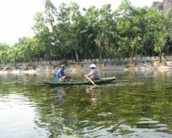 laivošana pa upi
