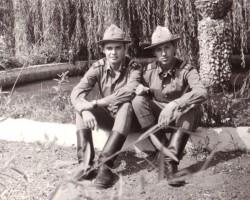 Latvieši armijā siltajās zemēs