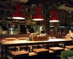 "Curasao/ Italian restaurant ""Rosso"""