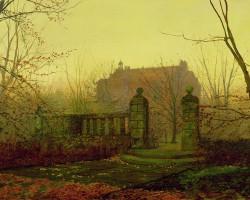 John Atkinson Grimshaw – Autumn Morning