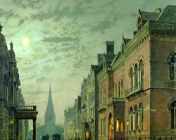 John Atkinson Grimshaw – Park Row, Leeds