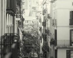 Barselona. Kādā Ramblas šķērsielā