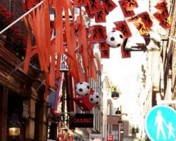 Holandieši fano par savu futbola komandu