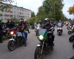 Moto sezonas noslēgums- Sigulda
