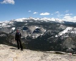 Yosemite National Park, pie Half Dome virsotnes