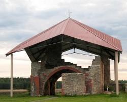 Pirmā mūra celtne Baltijā -> Livonijas bīskapa kapela  - 1. foto