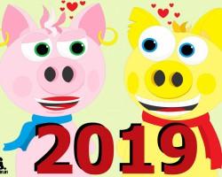 Dzeltenās Cūkas 2019 gads ir klāt!