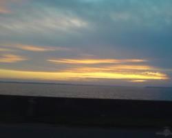 Saullēkts Ķegumā.