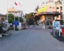 Nikosia (robeža ar Turciju)