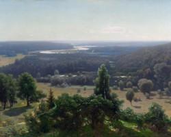 Saulriets pie Rāznas ezera