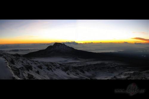Saullēkts no Kili. (Tanzānija)