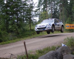 Neste oil rally Finland - 1. foto