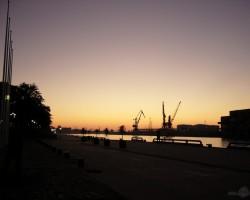 Vakars ostā - 1. foto