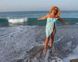 Saule, jūra, krāsas un es...