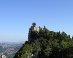 Sanmarīno cietokšņa tornis...