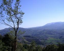 Sanmarīno dabas ainava...