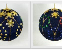 Dekoratīvās bumbas. 2015.gada kolekcija.