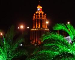 Gruzīnu izdoma, lai palmas nav jākrāso :)