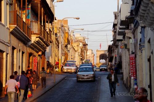 Arequipas ieliņa (- citas/vairākas valstis -)