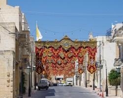 Galvenā iela pilsētā, kurā būs festivāls.