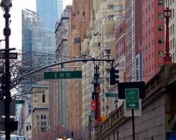 Netipiska iela Manhetenā