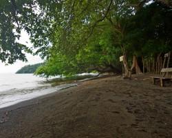 Nikaragvas ezera pludmale :)