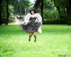 viens no eņģeļiem - 1. foto