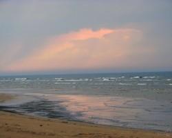 Skaists maija vakars Dubultos pie jūras
