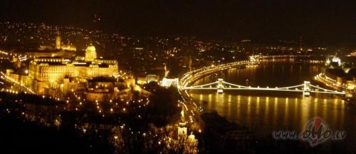 skats uz Budapeštu  no Gelerta kalna (Ungārija)