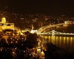 skats uz Budapeštu  no Gelerta kalna