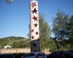 Piemiņas stabs Šengenā