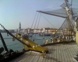 Venecija no Amerigo Vesepuchi klāja