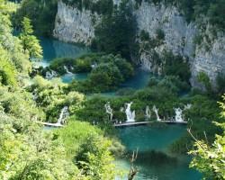 Horvātija, Plitvices ezeru rezervāts - paradīze zemes virsū