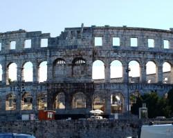 Seno romiešu amfiteātris Pulā, Horvātijā
