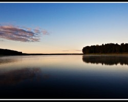 Baltezera rīts - 1. foto