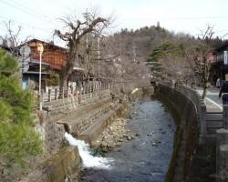 Japāna, gandrīz ķiršu ziedos. - 1. foto
