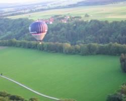 Lidojums ar gaisa balonu - 1. foto