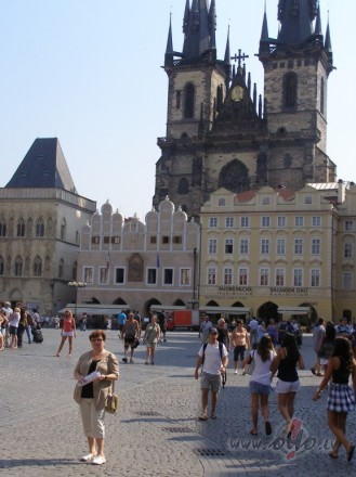 Prāgas rātslaukums  (Čehija)