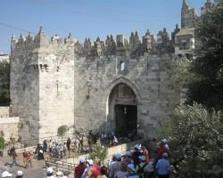 Jeruzālemes vecpilsētā. - 1. foto