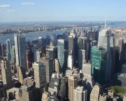 skats no Empire State Building