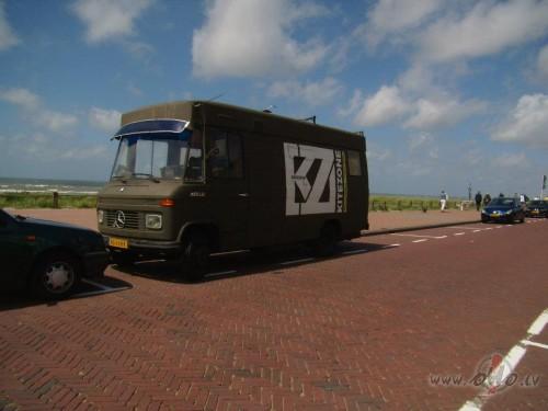 Zandvoort beach (Nīderlande)
