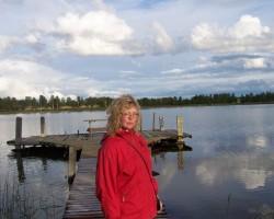 Pie Sasmakas ezera.