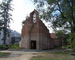 Talsu katoļu baznīca.