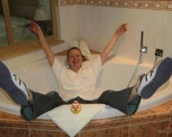 Atvadoties no viesnīcas:)) - 1. foto
