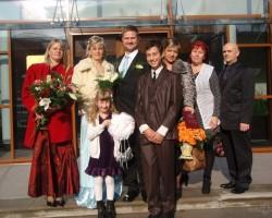 Jautro zolistu kāzās - 1. foto