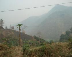 Taizemes kalnu panorāma