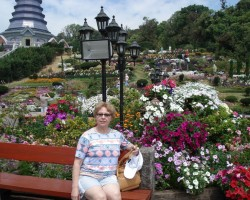 Ziedu parks Taizemes karalim