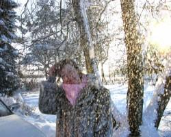 Skaista ziemas diena. - 2. foto