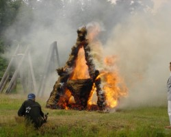 ugunsskulptūra