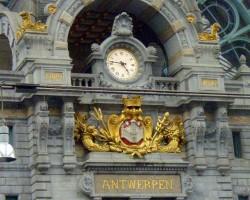 Antverpenes dzelzceļa stacija - viena no skaistākajām Eiropā